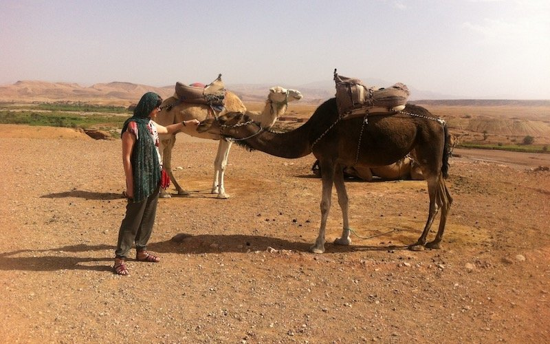 Turning 40 - with camels in Morocco