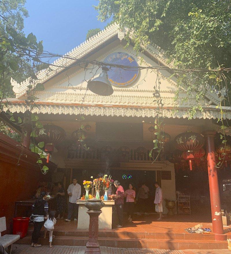 Chinese Temple Wat Phnom