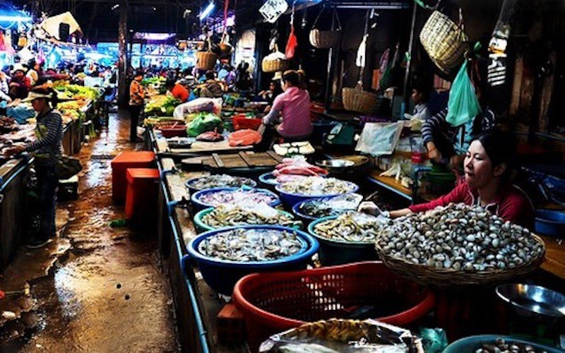 Psar Chas Old Market Siem Reap