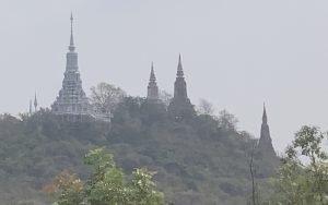Oudong Stupas