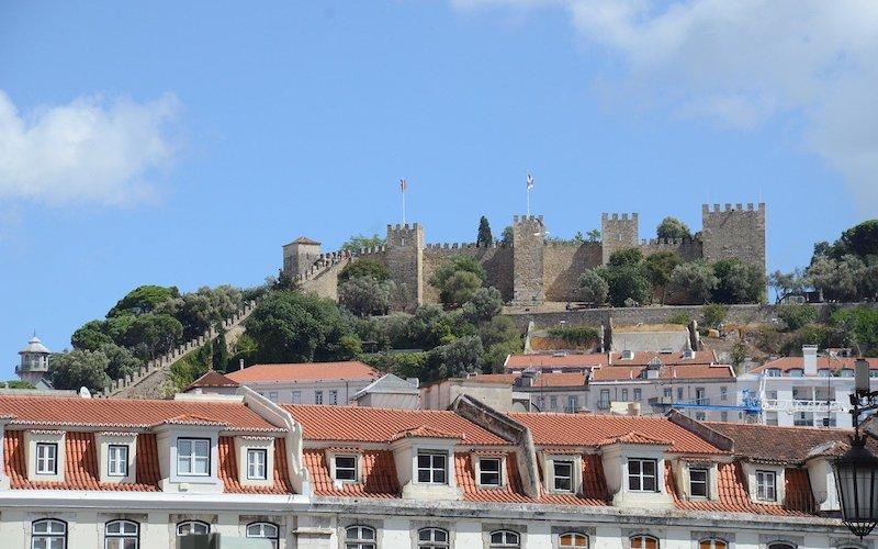Castelo Sao Jorges Lisbon