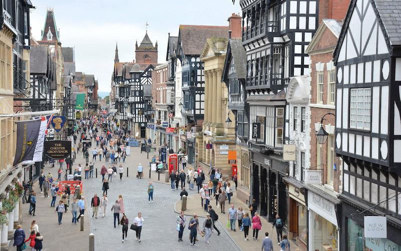 Chester Historic Centre