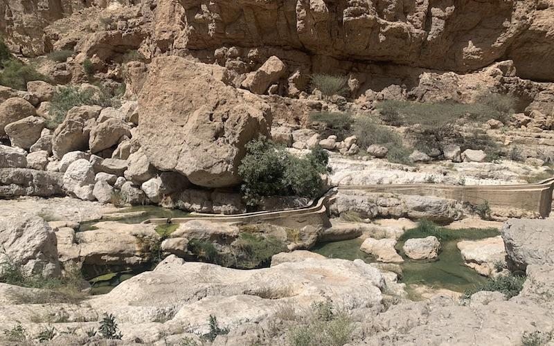 Irrigation wadi shab