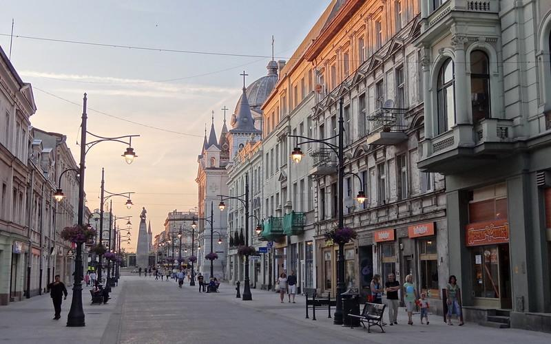 best cities in Poland Lodz