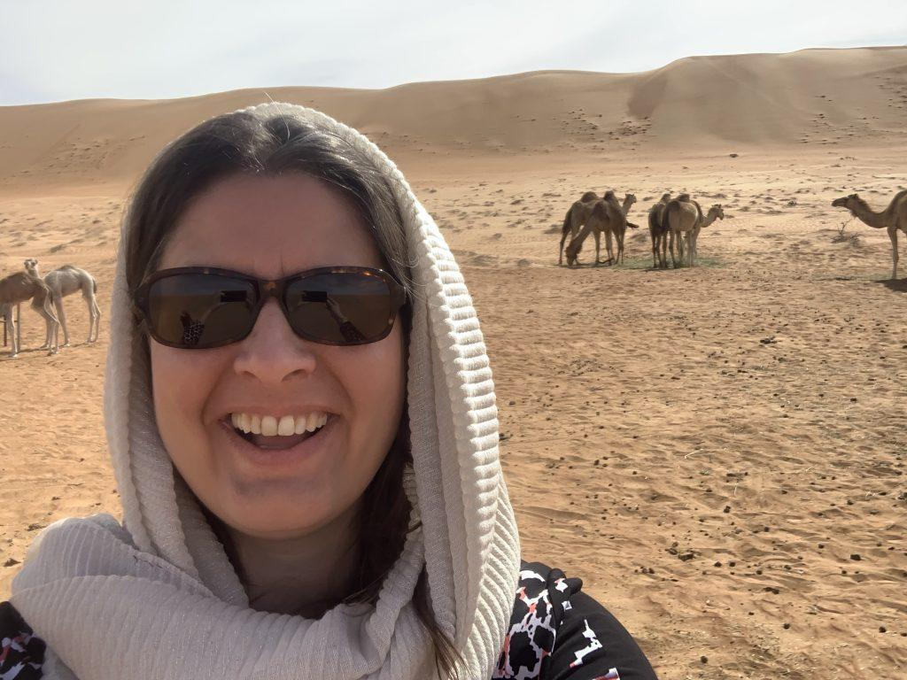Sharqiya sands meeting camels