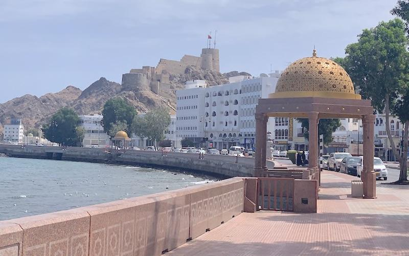 Things to do in Oman Mutrah Corniche