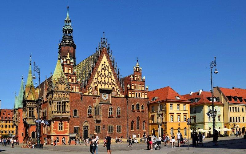 best cities in Poland Wroclaw