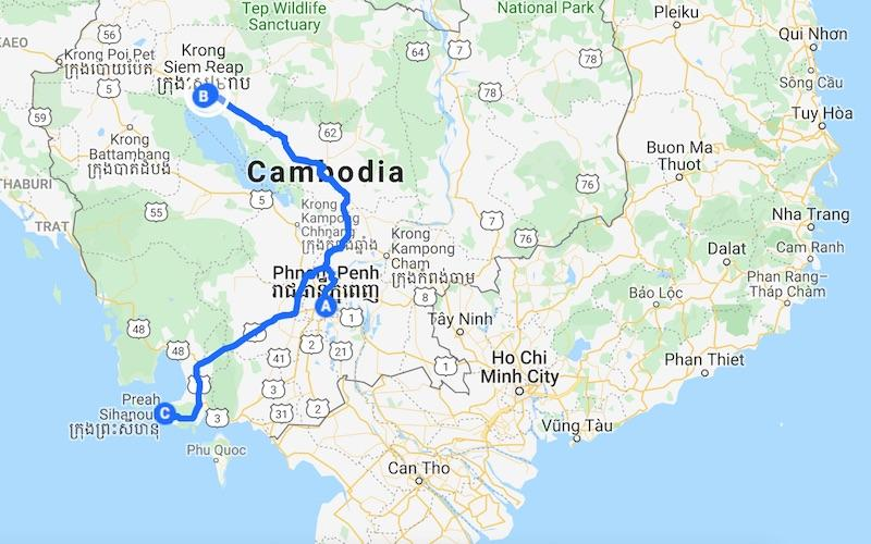 Cambodia itinerary 10 days