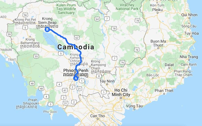 Cambodia itinerary 5 days