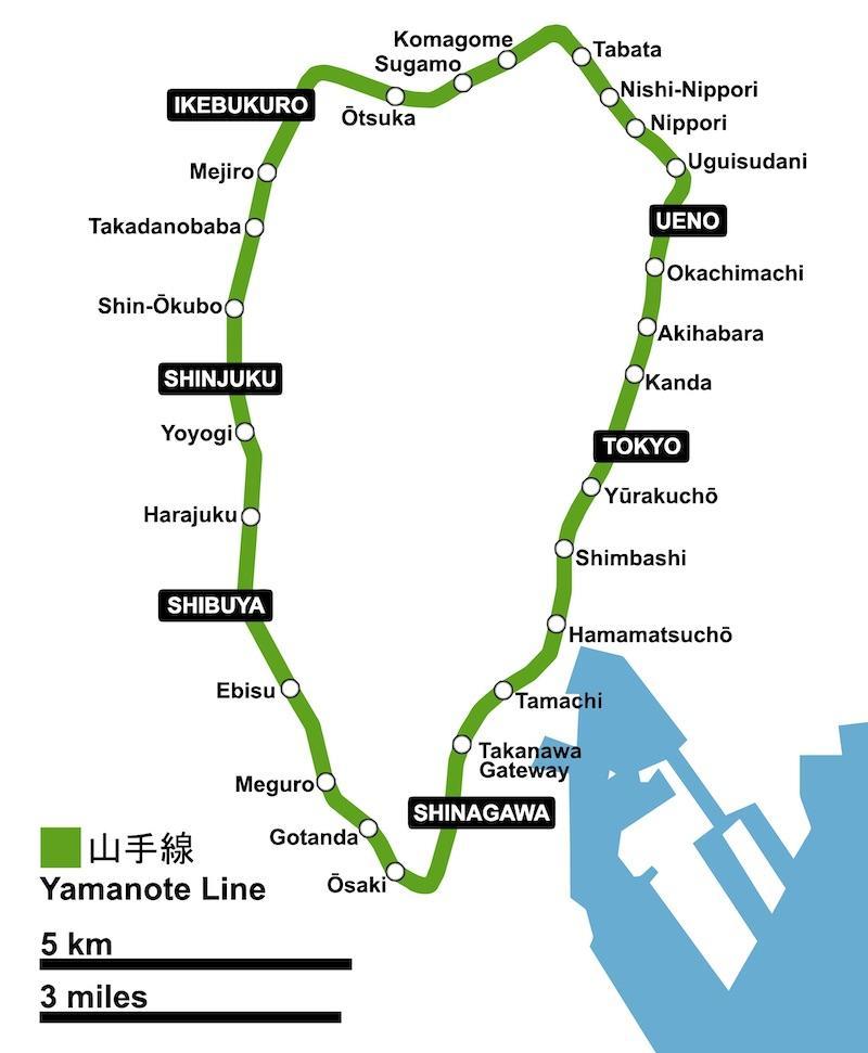 Yamanote Line Tokyo